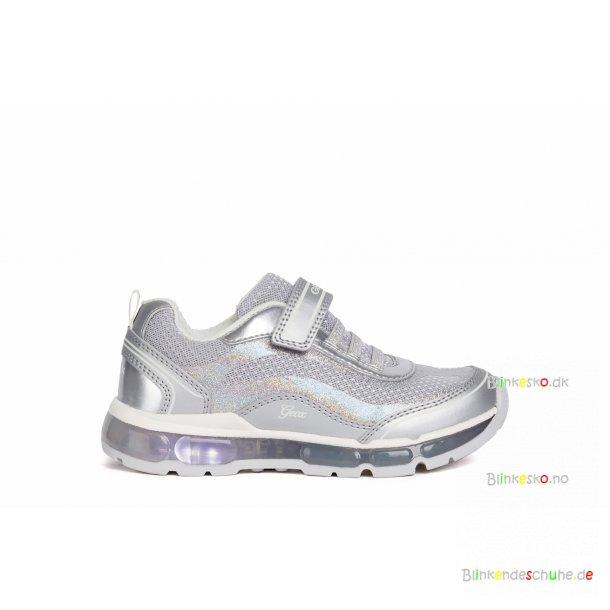 GEOX ANDROID J1545A Blinkesko Silver