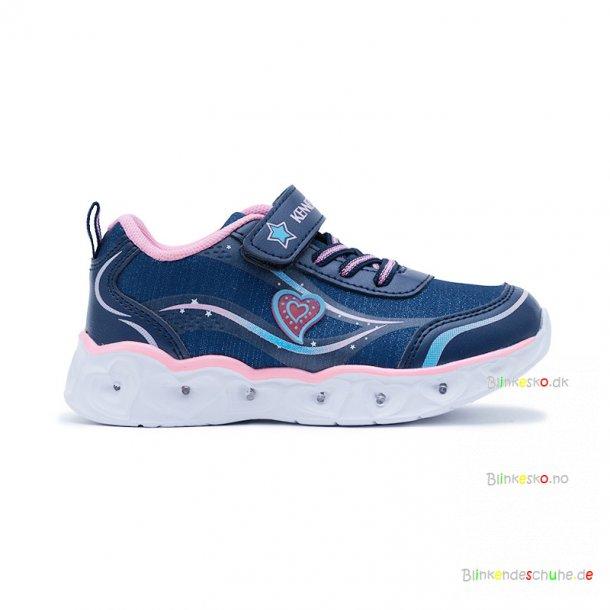 Kennedy Blinkesko 12032 Navy/Blue/Pink