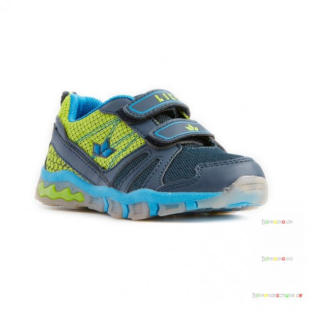 LICO Lumos 300167 Blinkesko Navy/Lime/Blue
