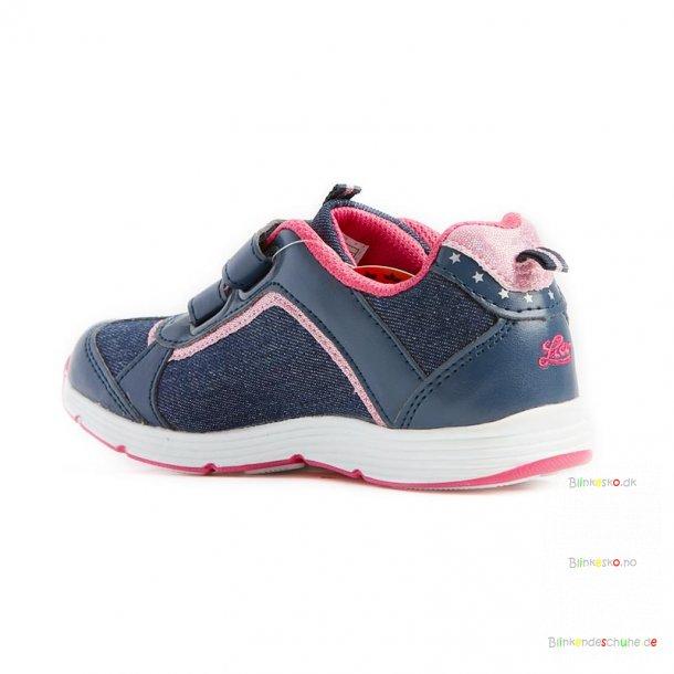 LICO Shine 300132 Blinkesko Navy/Pink