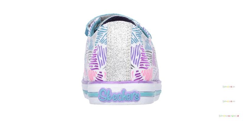 SKECHERS SPARKLE EXPRESSs Blinke Sneakers 10595 WhiteMulti