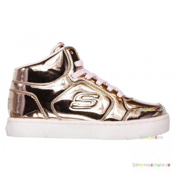 Skechers Energy Lights DANCE N DAZZLE 10771 Blinkesko Rose/Gold