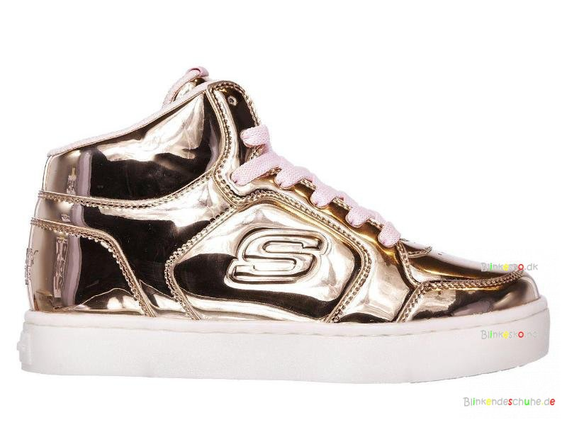 Skechers Dance Lights N Dazzle Energy Rosegold Blinkesko 10771 ED2YWIH9
