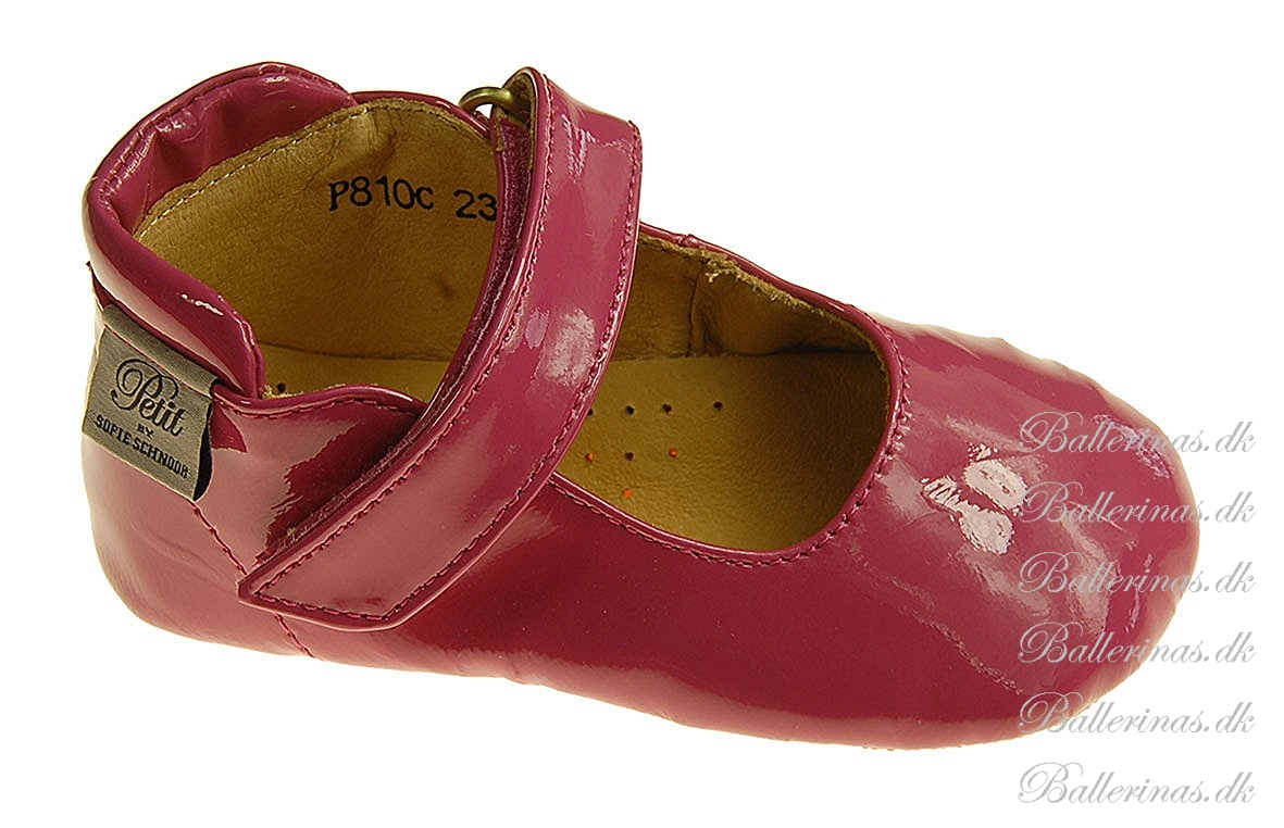 b81c0948082 Sofie Schnoor Baby Indesko Fuxia - BABY SKO - Ballerinas.dk