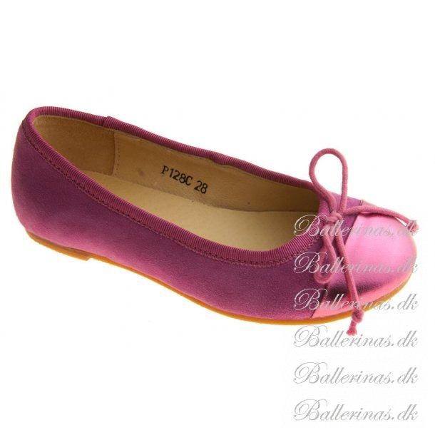 c81a68b8477 Sofie Schnoor Ballerina Sko Ruskind Fuxia - Ballerina Sko ...