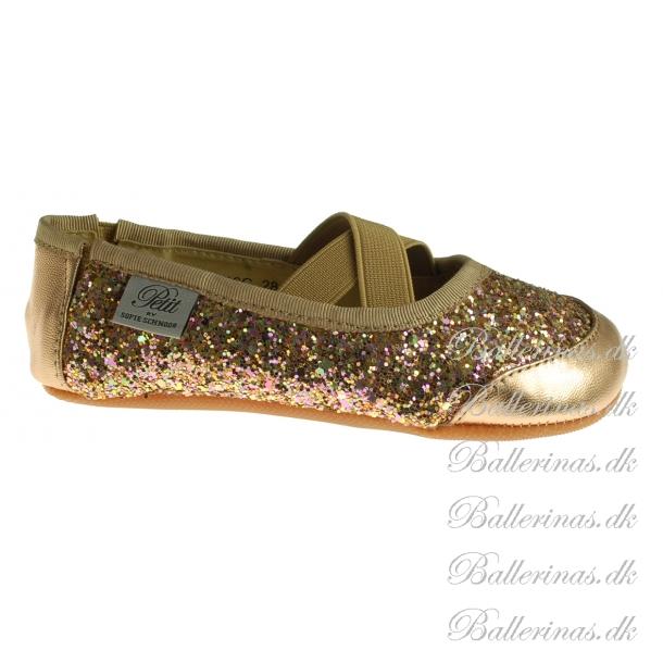 be9765a4719 Sofie Schnoor Ballerina Indesko Glimmer Peach P816C - Indesko ...