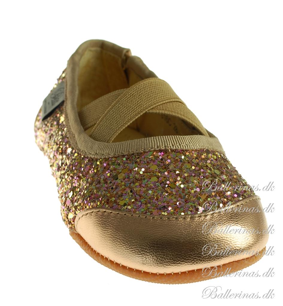 6ae817ed784 Sofie Schnoor Ballerina Indesko Glimmer Peach P816C - Indesko ...