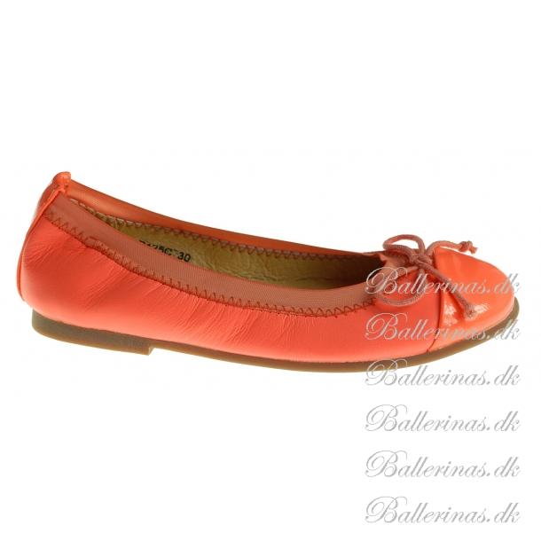 sofie schnoor ballerina schuhe neon orange ballerinas. Black Bedroom Furniture Sets. Home Design Ideas