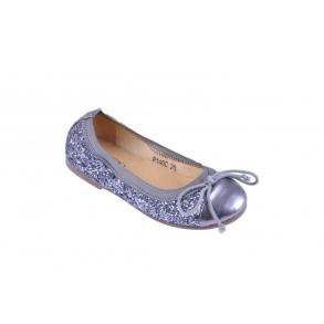 0eadd76323a Sofie Schnoor BallerinaSko P146C Glimmer Antik Silver