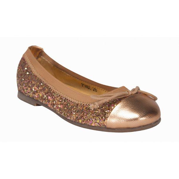 c879e5b4d56 Sofie Schnoor Ballerina Sko Glimmer Peach P146C - Ballerina Sko ...