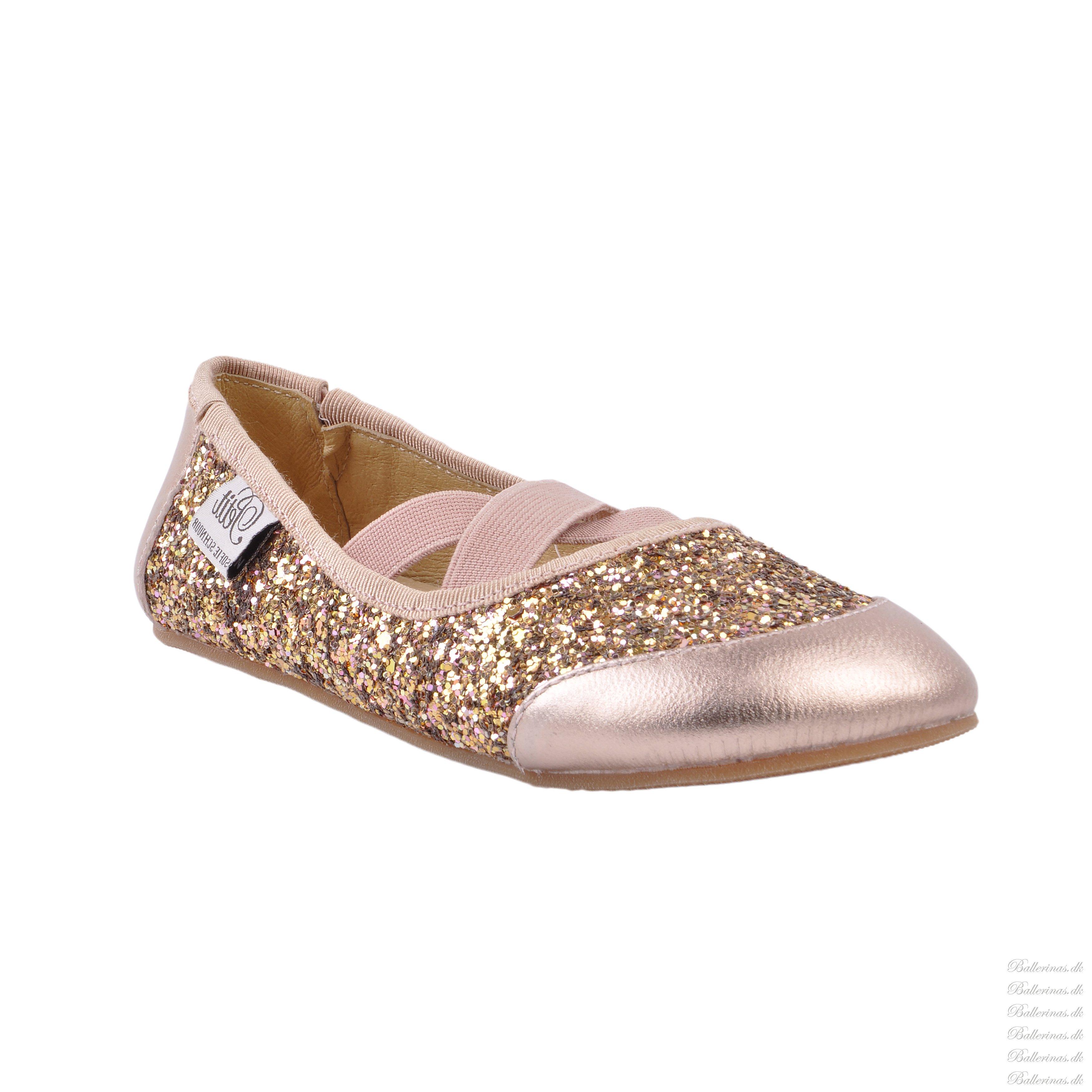 455018e3e69a Sofie Schnoor P816C Ballerina Indesko Rosegold - Indesko - Blinkesko.dk