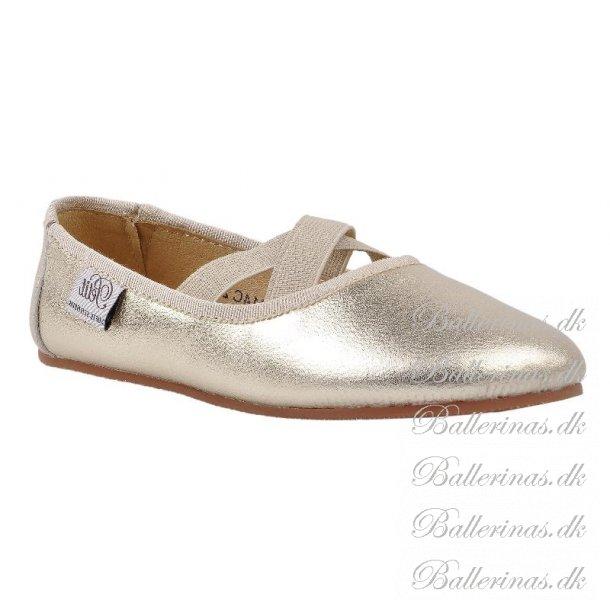 Sofie Schnoor Ballerina Indesko NY SÅL Champagne P814C