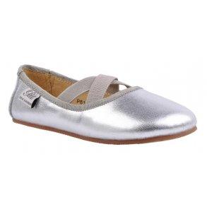 300c7379f65 Sofie Schnoor P814C Ballerina Indesko Silver