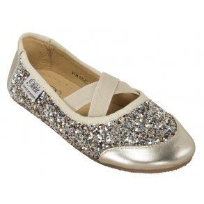 5f2954961fb Sofie Schnoor P816C Ballerina Indesko Gold