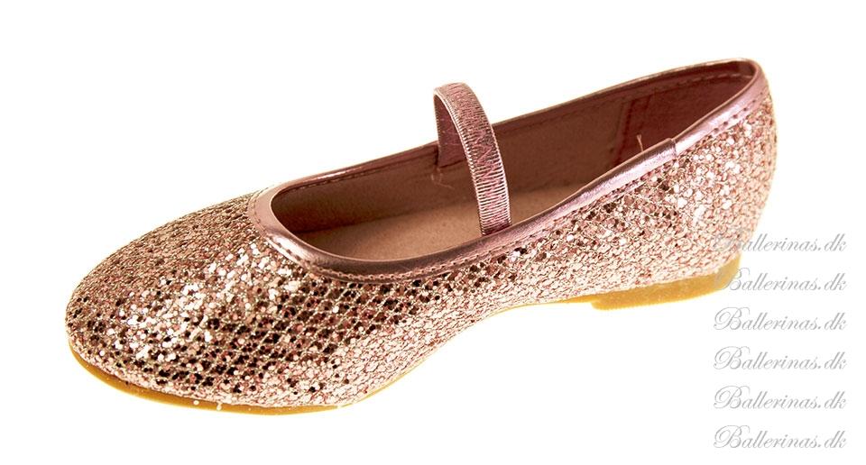 c86d9586733 Ballerina Sko Pink Glimmer - Ballerina - Blinkesko.dk