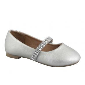 b46534fc187 Kennedy Ballerina Sko 456 Silver