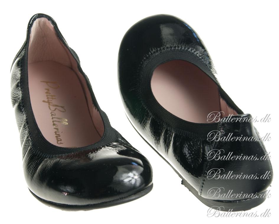 pretty ballerinas sort ballerina sko. Black Bedroom Furniture Sets. Home Design Ideas