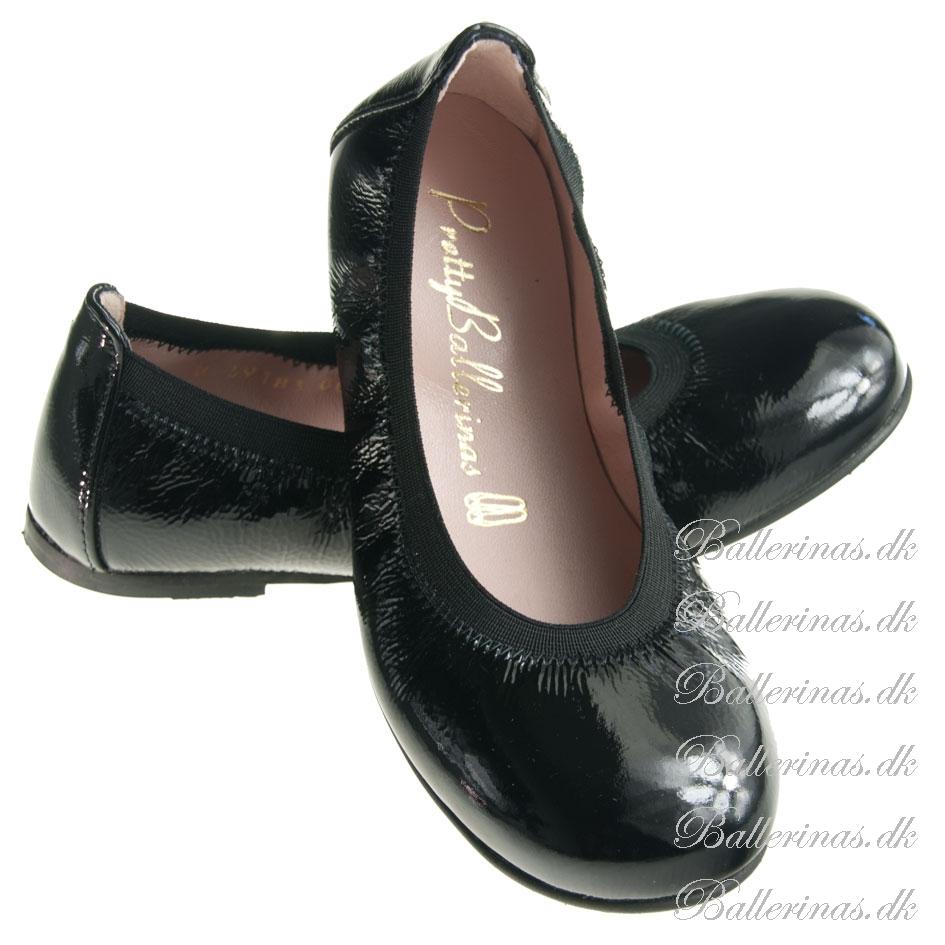 pretty ballerinas schwarz ballerinas f r kinder. Black Bedroom Furniture Sets. Home Design Ideas
