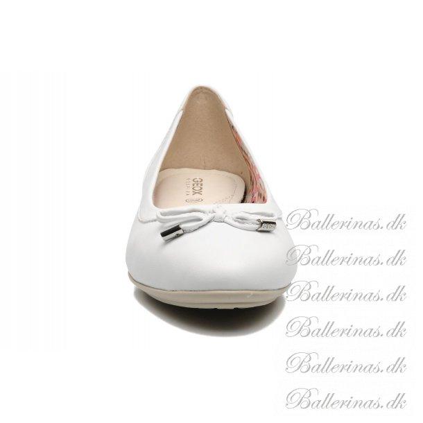 hvide ballerina sko