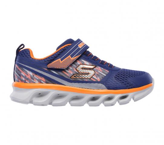 Skechers TREMBLERS Blinkende Schuhe 90581 NVYORNG